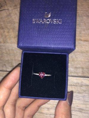 Swarovski silber Ring in Herzform