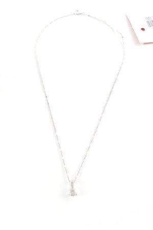 Swarovski Silberkette silberfarben Casual-Look