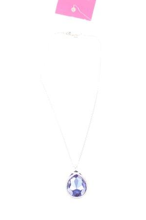 Swarovski Silver Chain silver-colored-blue elegant