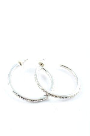 Swarovski Srebrne kolczyki srebrny Elegancki