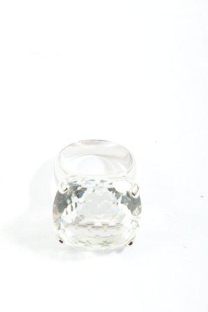 Swarovski Silberring silberfarben Elegant