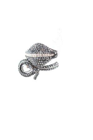 Swarovski Zilveren ring zilver extravagante stijl
