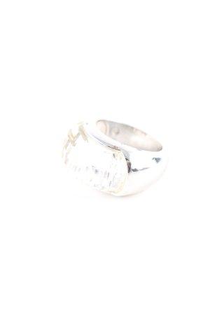Swarovski Silberring silberfarben Casual-Look
