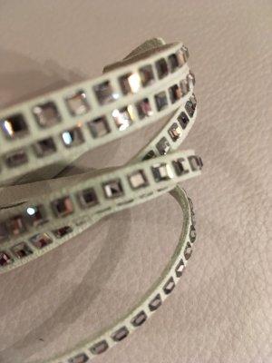 SWAROVSKI Slake Grey Armband, grau, NEU und ungetragen
