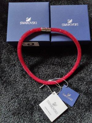 Swarovski Stardust Halskette, rot, Gr.S, Magnetverschluss, NEU inkl. Box und Etiketten