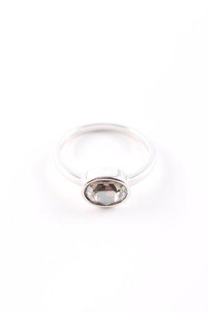 Swarovski Anello di fidanzamento argento elegante