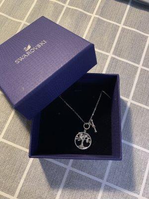 Swarovski Necklace silver-colored