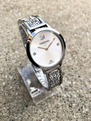 Swarovski Uhr Damen Armbanduhr 32mm Silber Weiß