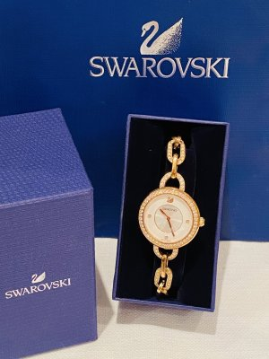 Swarovski Analog Watch gold-colored-natural white