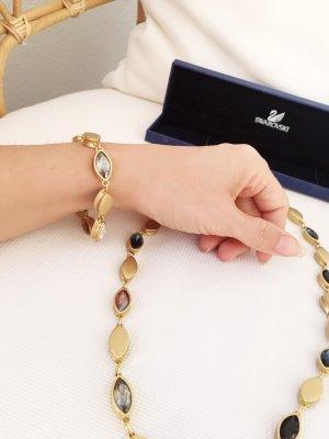 Swarowski Kette und Armband mit bunten Kristallen