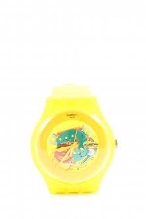 Swatch Analoguhr mehrfarbig Casual-Look