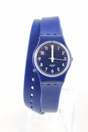 Swatch Analoguhr blau Casual-Look