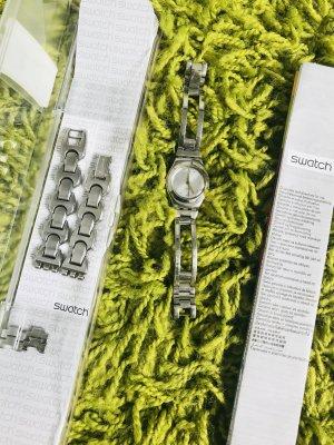 Swatch Armbanduhr mit Ersatzarmband