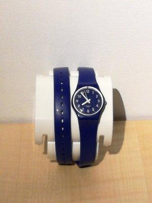 Swatch Analoog horloge blauw
