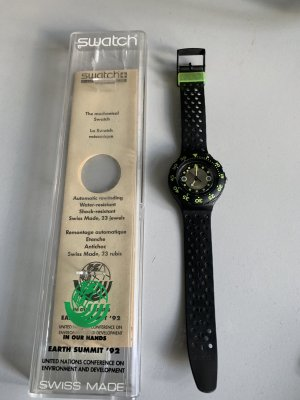 Swatch Earth Summit 92