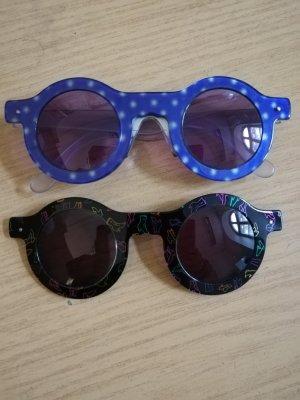 Swatch Gafas de sol redondas marrón-púrpura