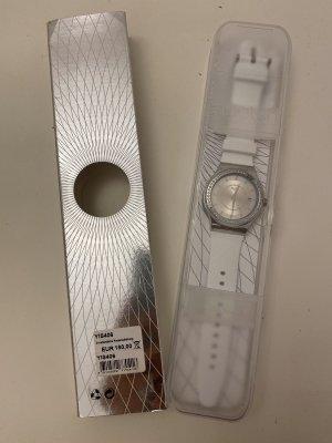 Swatch Montre automatique blanc-argenté