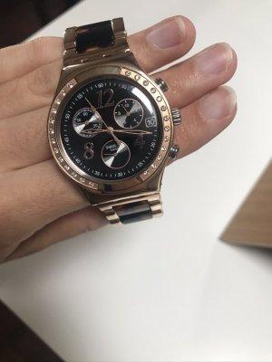 Swatch Swiss Damen Uhr Roségold Leo