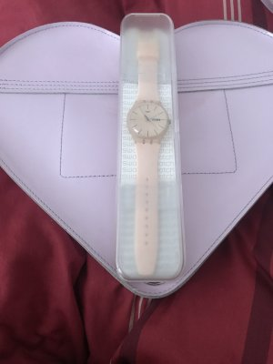 Swatch Zegarek automatyczny nude-w kolorze różowego złota