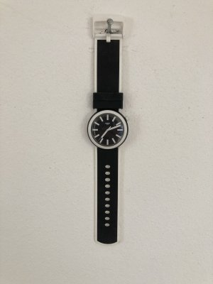 Swatch Self-Winding Watch white-black