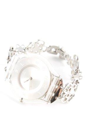 Swatch Montre avec bracelet métallique argenté style d'affaires