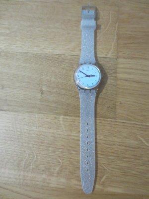 Swatch Zegarek analogowy jasnoszary-błękitny