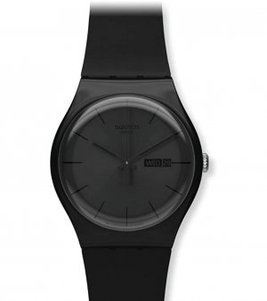 Swatch Montre analogue noir