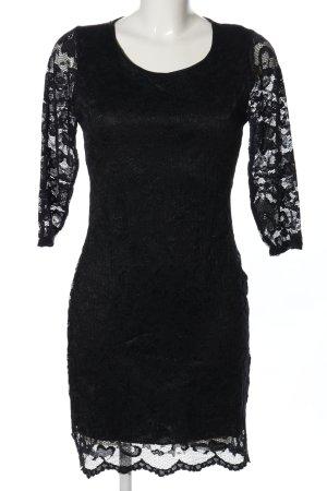 Sway Spitzenkleid schwarz Casual-Look