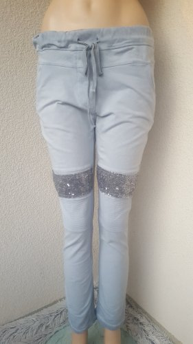 Milano Pantalon de jogging bleu azur