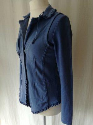 BC Sweat Blazer azure cotton
