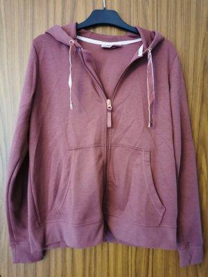 Sweat Jacket rose-gold-coloured-dusky pink