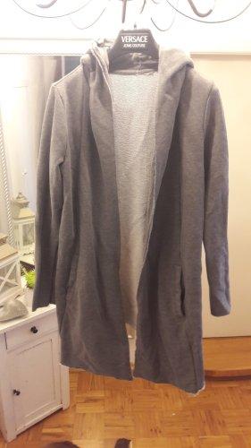 H&M Chaqueta con capucha gris claro