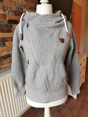 Naketano Shirt Jacket light grey