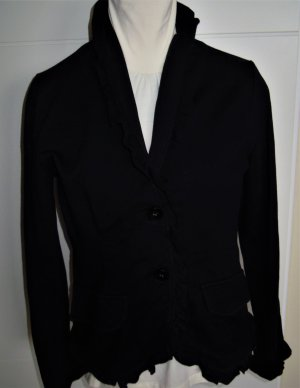 More & More Blazer sweat nero