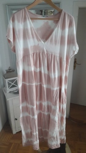 Italy Moda Sukienka dresowa biały-stary róż