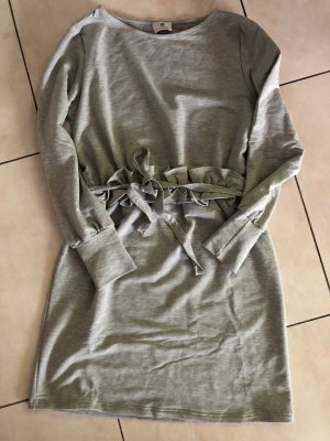 Sienna Sweater Dress light grey-grey