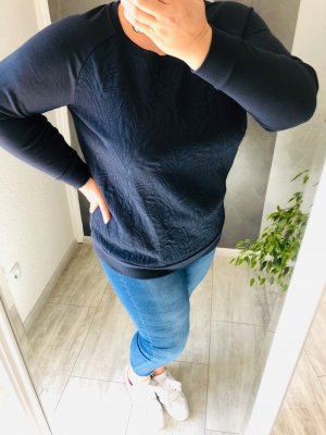 Sweat Pullover • florales Muster Gr. 48/50