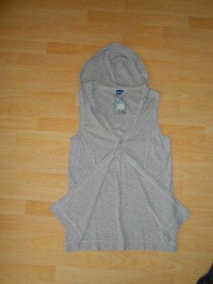 Cecil Hooded Vest light grey cotton