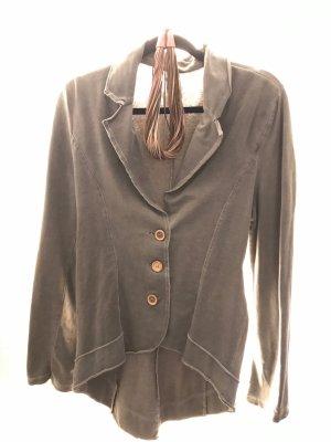 Made in Italy Sweat Blazer grey cotton