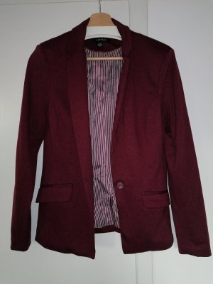 Sweatblazer bordeaux
