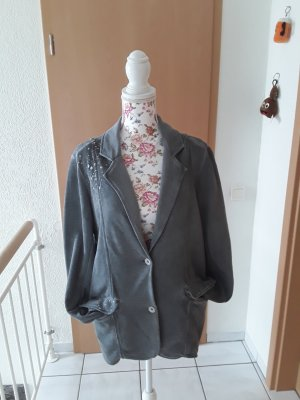 Gina Benotti Sweat Blazer silver-colored-grey