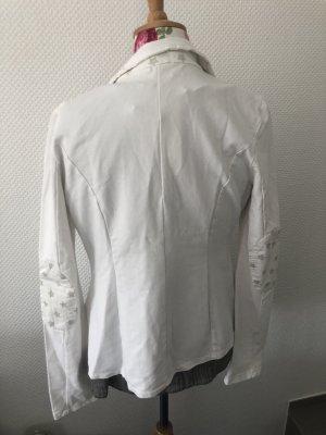 Made in Italy Blazer sweat blanc