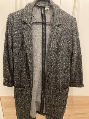 H&M Divided Sweat Blazer dark grey