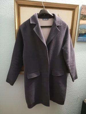 Sweatblazer Longblazer Mantel Jacke Baumwolle Blazer