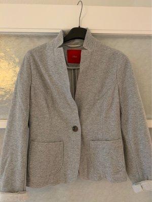 s. Oliver (QS designed) Blazer sweat gris clair