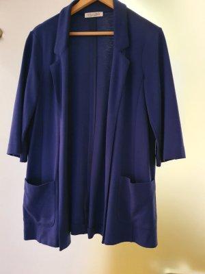 TwinSet Simona Barbieri Sweat Blazer blue