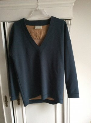 by Malene Birger V-Neck Sweater dark green