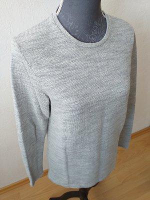 Jack & Jones Jersey de cuello redondo gris claro-gris