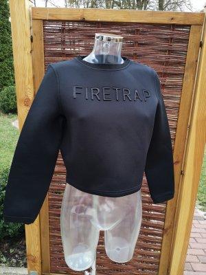 Sweater Cropped Neopren oversize Gr 38/40!