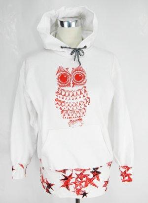Sweater Gr. S Kapuzenpullover Kapuzenshirt Eule